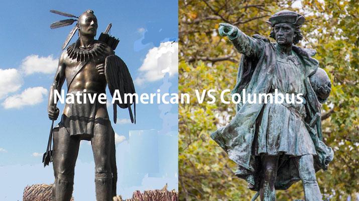 ネイティブアメリカン vs コロンブス