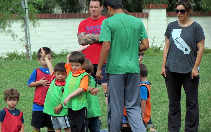 子供サッカー教室