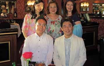 ロースクール卒業後、日本から駆け付けたご両親と平田社長