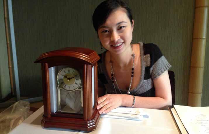 IGEより就職のお祝いで時計をプレゼントしました♪